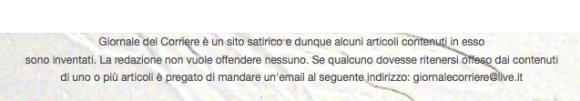 """un sito SATIRICO (""""satire"""")"""