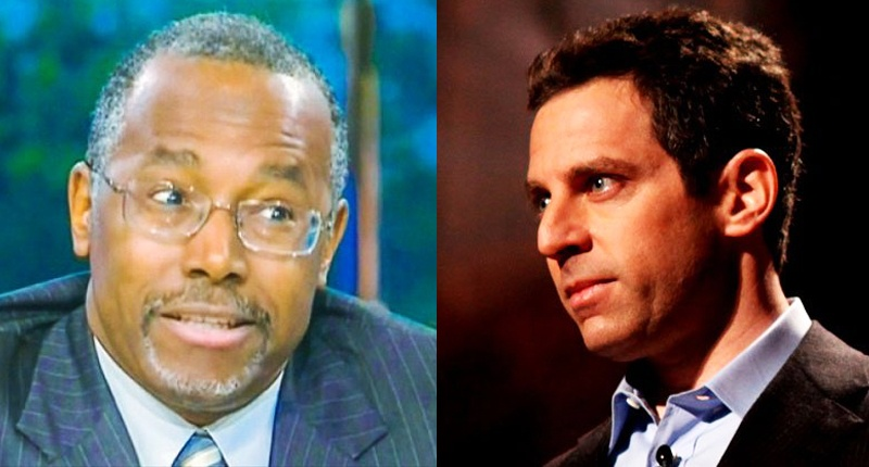 Retired neurosurgeon Ben Carson, neuroscientist Sam Harris