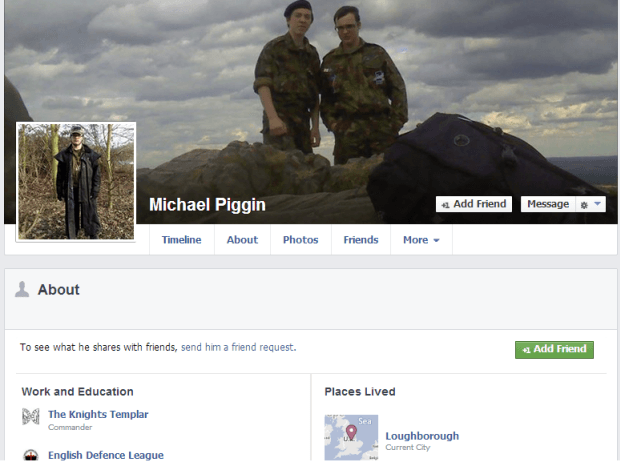 Michael Piggin Facebook