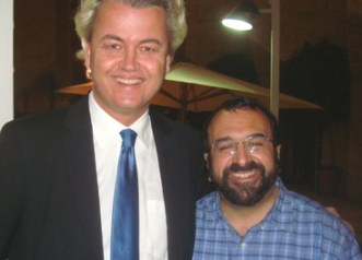 """Under his wing"": Geert Wilders & Robert Spencer"