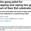 Daily Mail Eid rape headline
