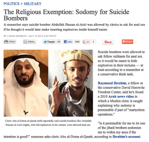 Sodomy for Suicide