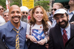 Pastor Usama Dakdok, Pamela Geller and Robert Spencer.