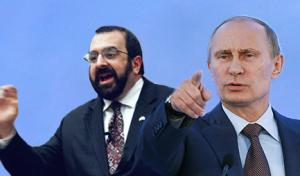 Spencer's favorite leader, Vladimir Putin.