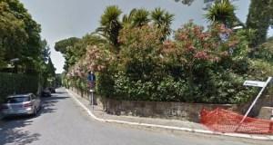 The killer had been living on Via Birmania in Rome's Eur neighbourhood since June.