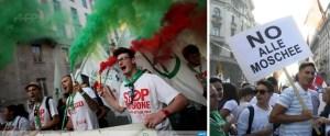 Lega-Nord-Milan-protest