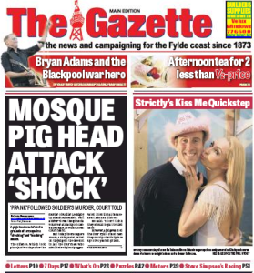 Blackpool-Gazette-front-page
